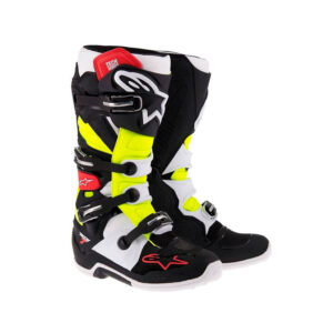 ALPINESTARS TECH 7 BLACK-YELLOW 2017-motohouse.bg