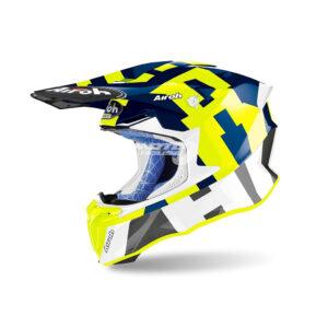 Каска-TWIST 2.0 FRAME BLUE GLOSS-AIRON-motohouse.bg