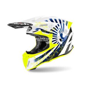 Каска TWIST 2.0 KATANA blue GLOSS-AIRON-motohouse.bg