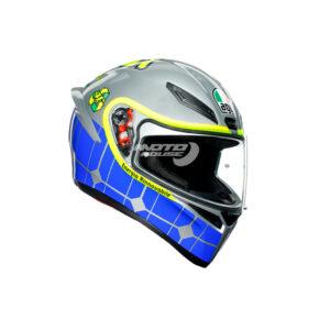 Каска K-1 AGV Top Rossi Mugello 2015-motohouse.bg