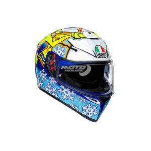 Каска K-3 AGV Top Rossi Winter Test 2016-motohouse.bg