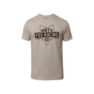 Тениска FLAT HAED SS PREMIUM TEE FOX-motohouse.bg