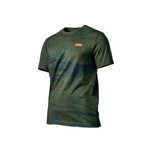 Тениска UNBOUND TEE GREEN КТМ-motohouse.bg