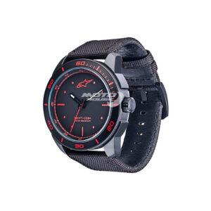 Часовник TECH WATCH 3H BLACK-BLACK-RED ALPINESTARS