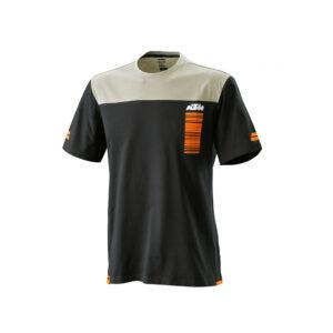 Тениска PURE STYLE TEE BLACK КТМ-motohouse.bg