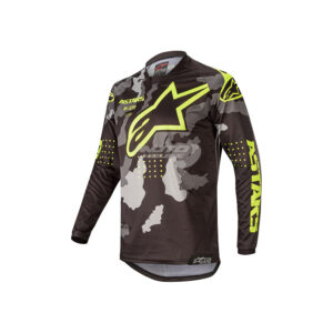 Блуза RACER TACTICAL JERSEY BLACK CAMO YELLOW FLUO ALPINESTARS-motohouse.bg-1