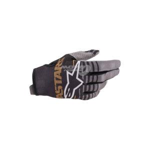 Ръкавици RADAR GLOVES BLACK DARK GRAY ALPINESTARS-motohouse.bg